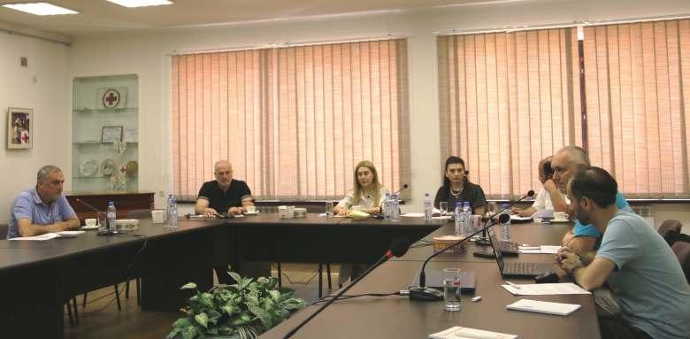 ՀԿԽԸ գրասենյակում տեղի ունեցավ Սիրիահայերի և տեղաբնակների դիմակայունության բարձրացում  ծրագրի ղեկավար կոմիտեի եզրափակիչ նիստը