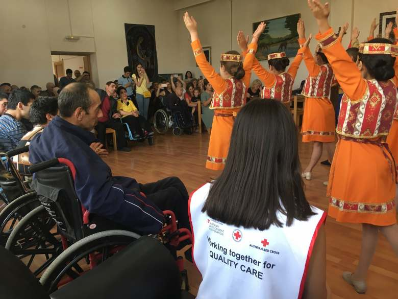Event was held in Gyumri 24-hour care center